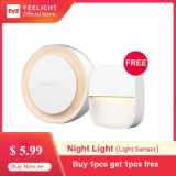 Xiaomi Yeelight LED Night Light Smart Auto Sensitive Light Sensor Control YLYD10YL
