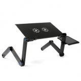 שולחן מתקפל עבור מחשב נייד, לעבודה נוחה על הספה ובכל מקום