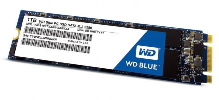 """כונן מהיר בדיל היום! – רק ב955 ש""""ח במקום 1400 ש""""ח בארץ! WD Blue 3D NAND 1TB PC SSD – SATA III 6 Gb/s M.2 228"""
