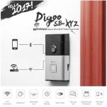 Digoo SB-XYZ – פעמון דלת עם מצלמה, WIFI ובלוטות'!