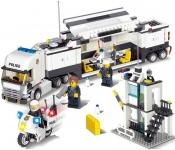 תואם לגו משאית משטרה 511 חלקים